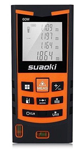 Suaoki S9 60m Laser-Entfernungsmesser für 23,99€ (Prime) oder 100m für 39,99€