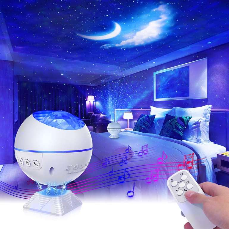 Mirapretty LED Sternenhimmel Projektor mit Fernbedienung für 17,09€ inkl. Versand (statt 29€)