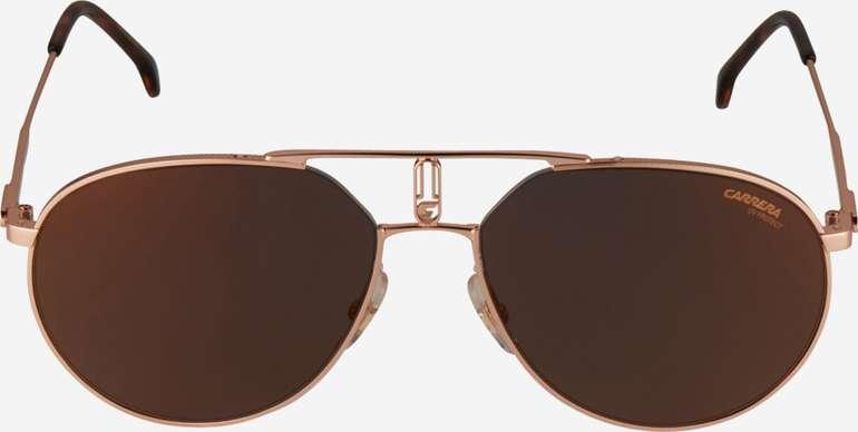 Carrera Sonnenbrille 1025/S in der Farbe dunkelbraun / gold für 43€ inkl. Versand (statt 90€)
