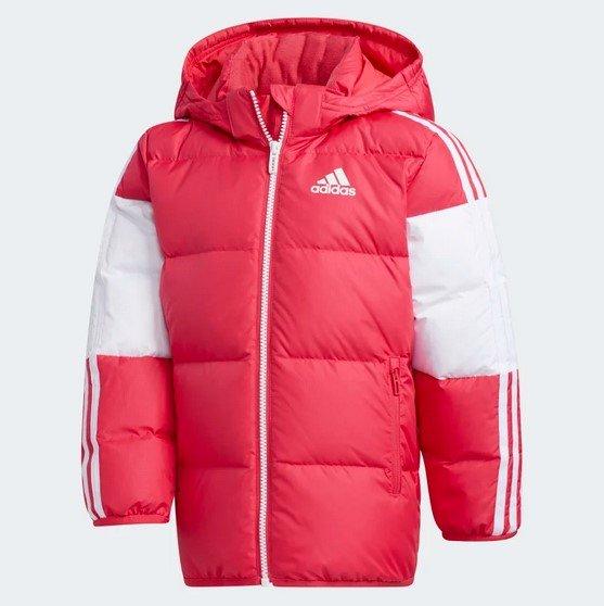 Adidas Mädchen Daunenjacke in Pink für 66,27€ inkl. Versand (statt 120€)