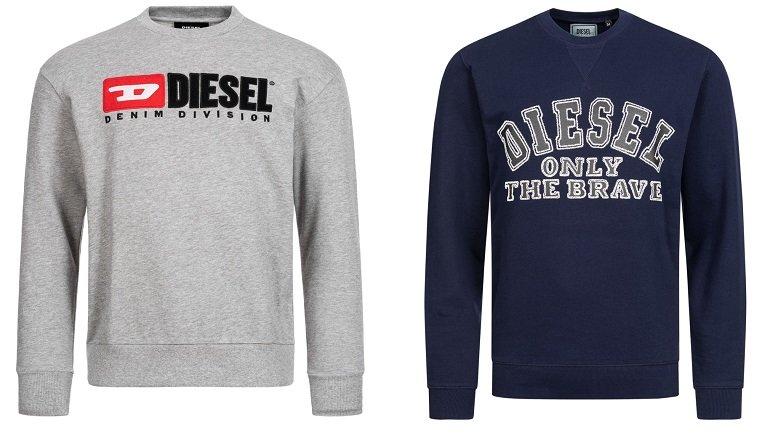 Diesel Herren Sweatshirts