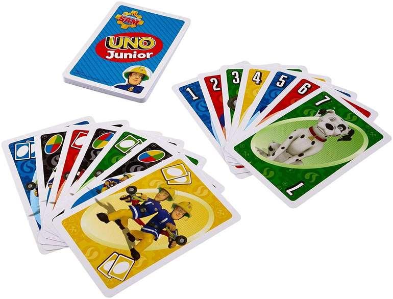Mattel Games FMW18 Feuerwehrmann Sam UNO Junior Kartenspiel für 5€ - Prime!