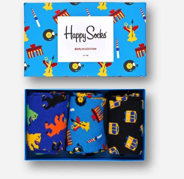 Happy Socks: 25% Rabatt auf nicht reduzierte Artikel + VSKfrei - z.B. Berlin Box 22,46€