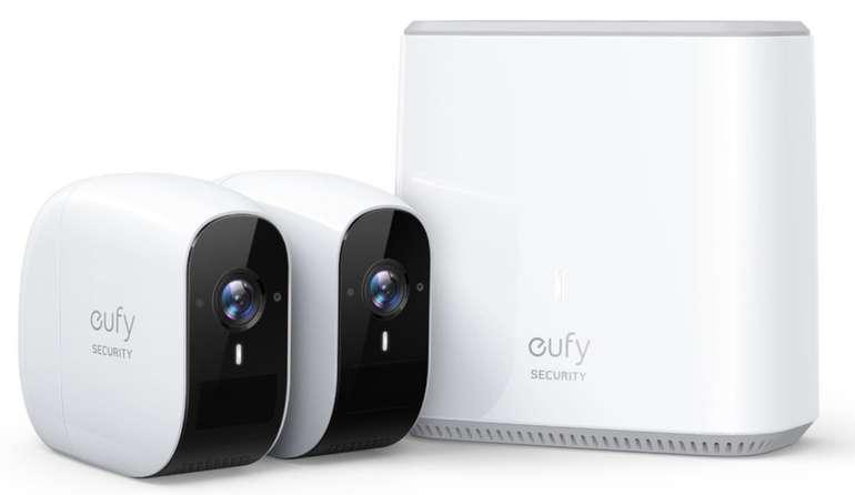 eufy Security eufyCam E - kabellose Überwachungskamera (1080p, 1 Jahr Akkulaufzeit, IP65) für 259,99€