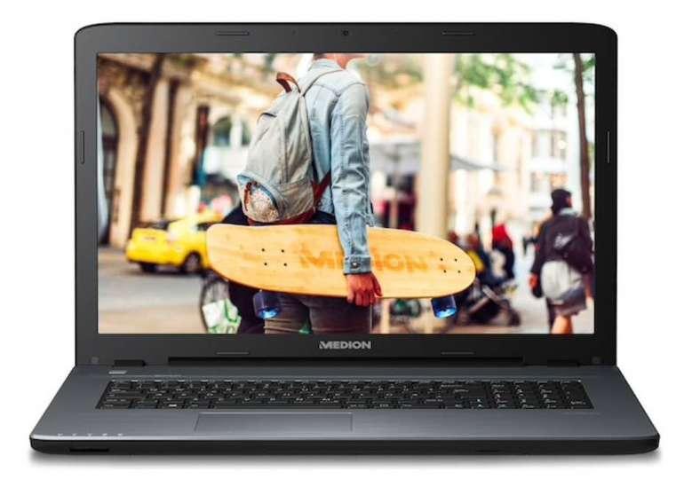 Medion P7653 Notebook (17,3 Zoll, Core i5, 128GB SSD, 1,5TB HDD) für 599,95€ (statt 699€)