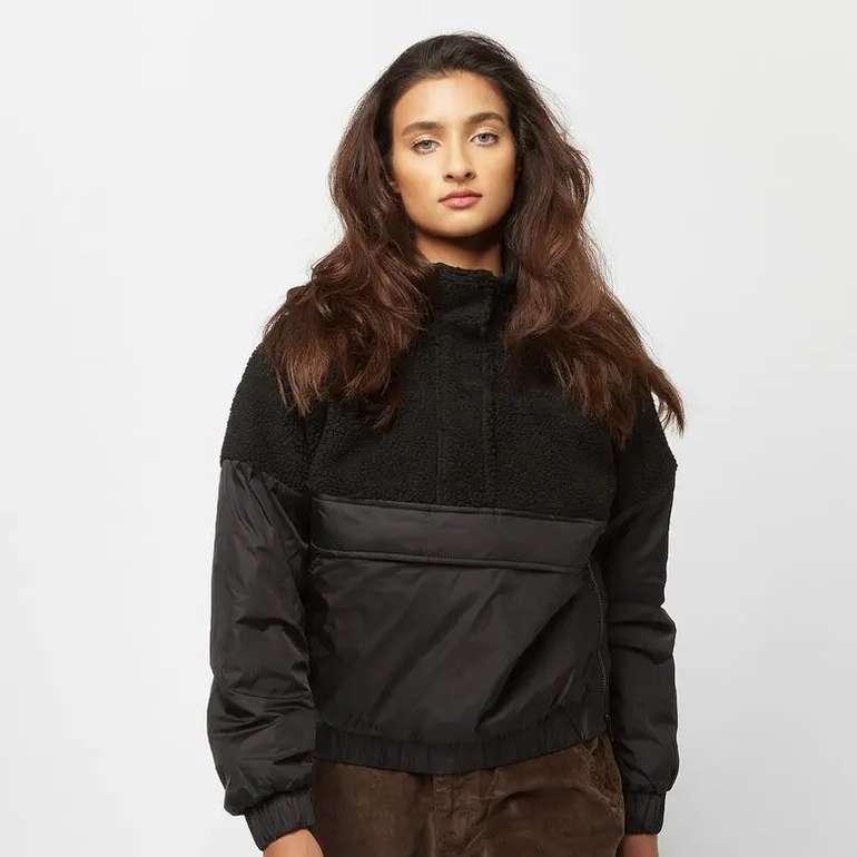 Urban Classics Sherpa Mix Pull Over Damen Jacke für 39,98€ inkl. Versand (statt 49€)