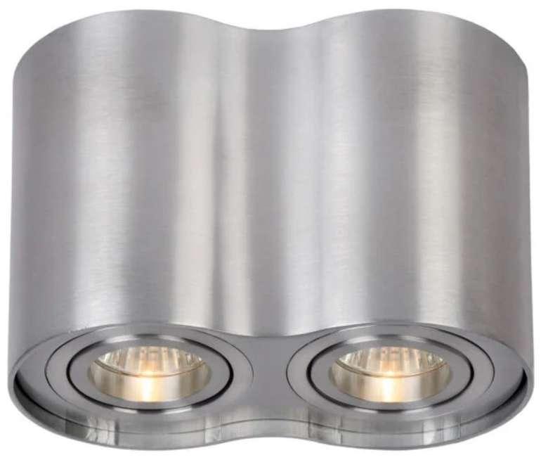 Lucide Tube Spotleuchte (2x GU10, Dimmbar, Aluminium) für 25,90€ inkl. Versand (statt 41€)