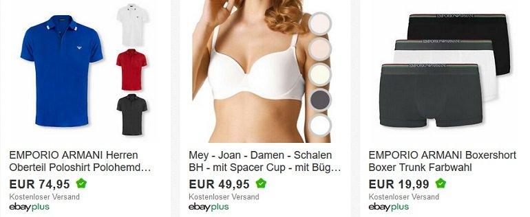 Ebay 20% Rabatt auf Unterwäsche