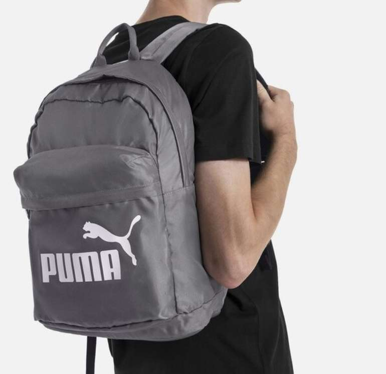 "Puma Rucksack ""Classic' in grau / weiß für 11,90€ inkl. Versand (statt 25€)"