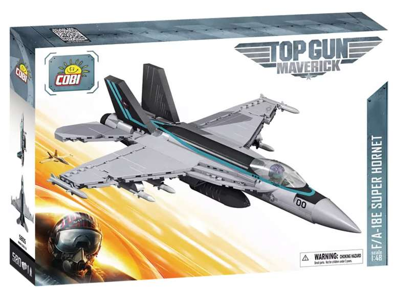 Cob Top Gun F/18A-E Super Hornet Bausatz für 29,69€inkl. Versand (statt 37€) - Thalia Club!