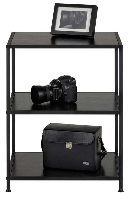 Modern Living Regal in Schwarz (50 x 65 x 40 cm) für 33,88€inkl. Versand (statt 46€)