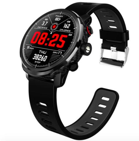 NoName Smartwatch mit Herfrequenzmessung und IP67 Schutz für 31,99€