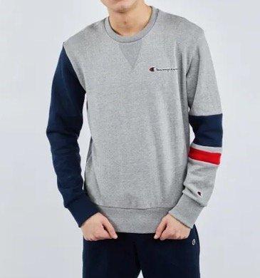 Champion Team Stripes Herren Sweatshirt für 29,99€ inkl. Versand (statt 55€)