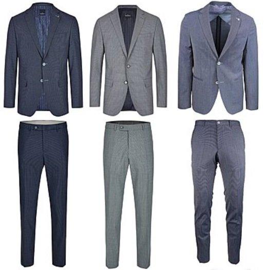 Daniel Hechter Anzüge aus Schurwolle in 10 Varianten für je 139,99€ (statt 190€)