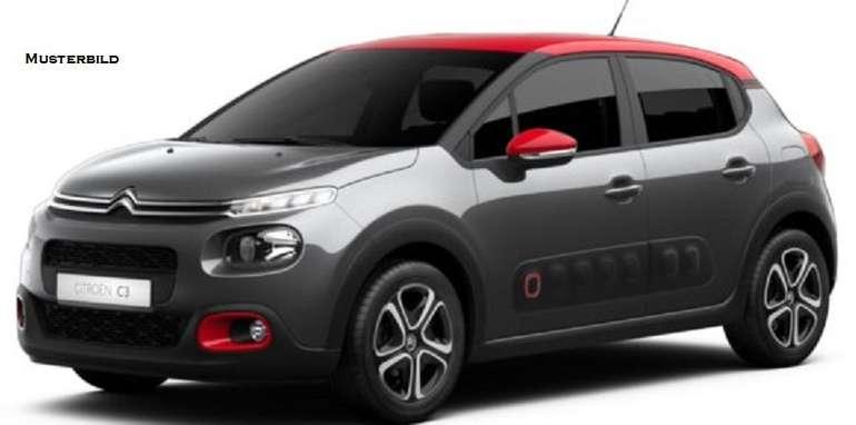 Gewerbe: Citroën C3 PureTech 83 Shine für 49,57€ Netto mtl. leasen (LF: 0,35)