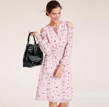 Heine Timeless schulterfreies Kleid für 42,42€ inkl. VSK (statt 69€)