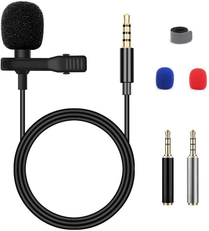 Blusmart Smartphone Kondensator-Mikrofon für 7,67€ inkl. Prime Versand (statt 12€)