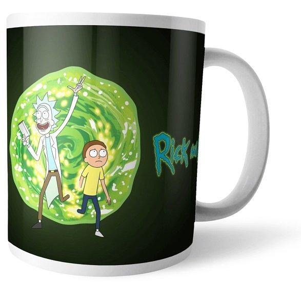 Rick & Morty Bundle bestehend aus T-Shirt (S bis XXL, Damen & Herren) + Tasse für 11,48€ inkl. Versand