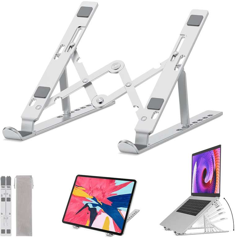 Cheerfun verstellbarer Laptop Ständer für 11,39€ inkl. Prime Versand (statt 19€)