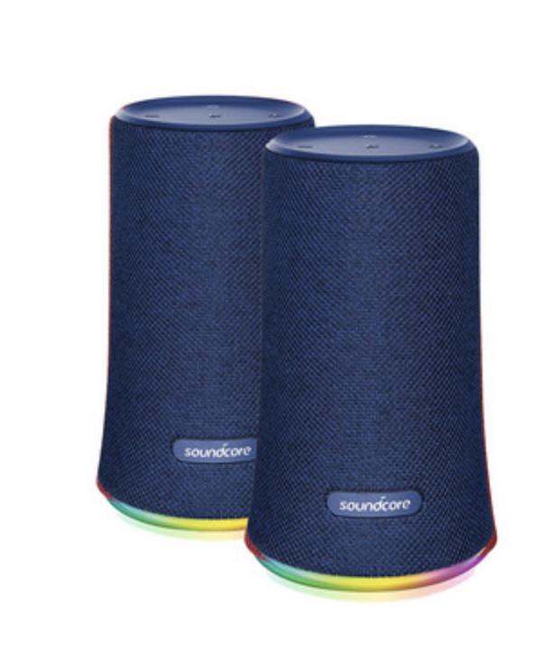 2x Anker Soundcore Flare Bluetooth-Lautsprecher in blau oder rot für 55,90 inkl. Versand (statt 112€)