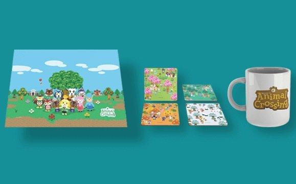 Zavvi: Animal Crossing Bundle - Untersetzer, Tasse, Schneidebrett für 22,99€ inkl. Versand (statt 38€)