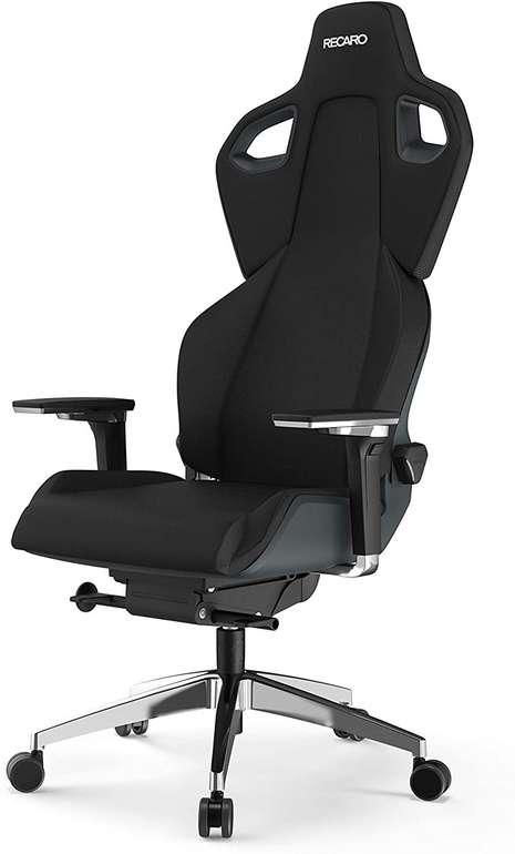 Recaro Exo FX, Gaming-Stuhl schwarz/grau + Kopfstütze für 755,99€ inkl. Versand (statt 989€)