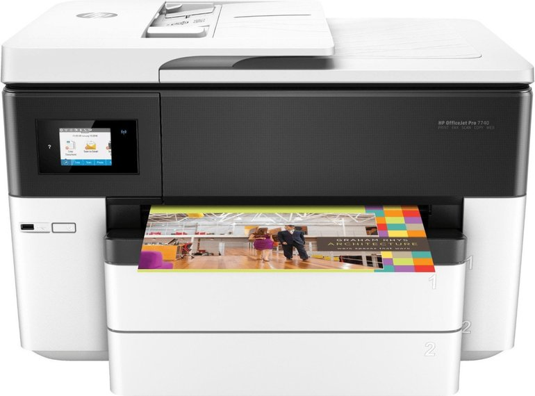 HP Officejet Pro 7740 A3 Großformat-Multifunktionsdrucker zu 153€ + 30€ Cashback