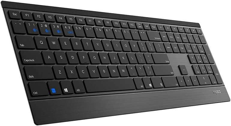 Rapoo Tastatur E9500M, Rubberdome für 30€ (statt 40€) - Abholung!