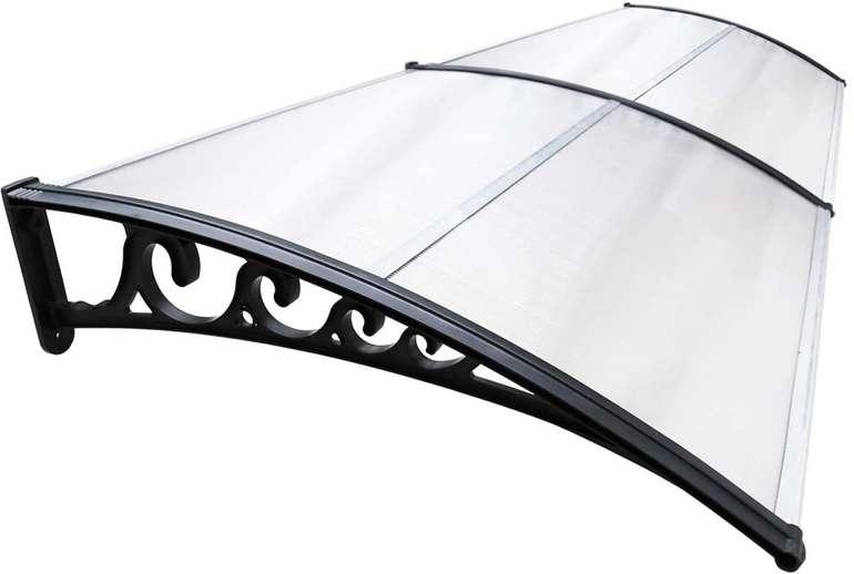 Hengda Vordach für Haustür 200 x 100 cm (Polycarbonat, 5 mm) für 37,09€ inkl. Prime Versand (statt 53€)