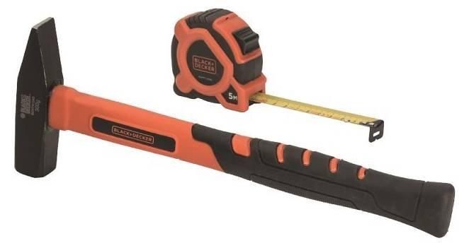 Black+Decker BDHT9-30092 Set: Hammer + Maßband für 8€ (statt 13€)