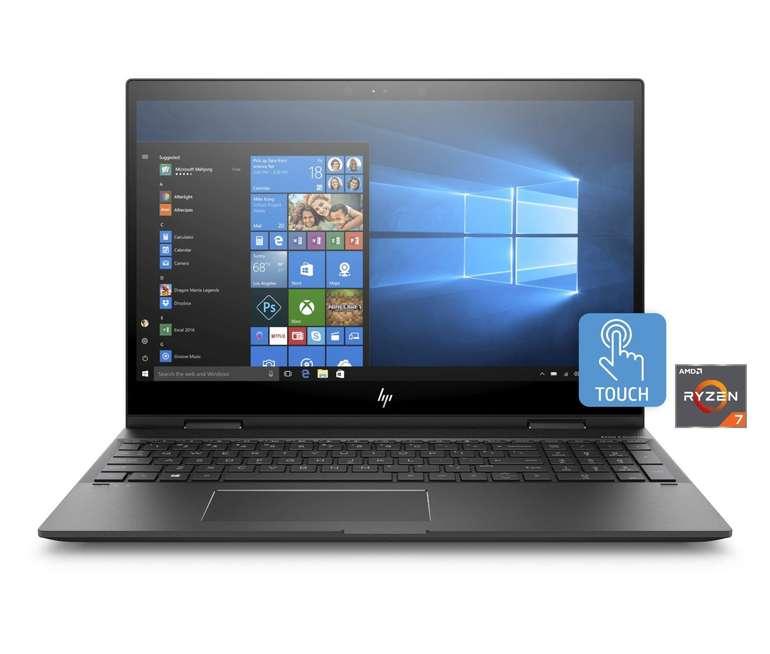 HP Convertible Envy x360 15-cp0005ng (Ryzen 7, 8GB RAM, 128 GB SSD) für 639€