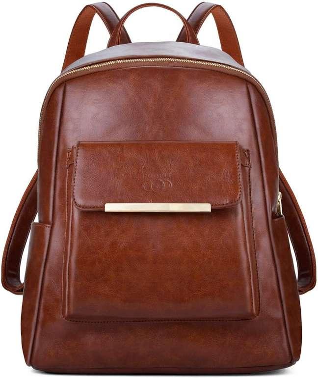 Coofit Damen PU Leder Rucksack für 14,89€ inkl. Prime Versand (statt 22€)