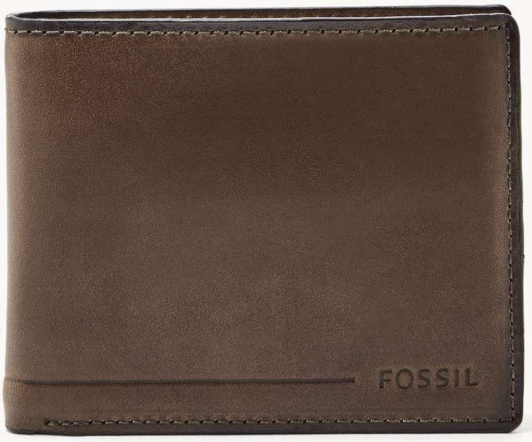 Fossil Herren Passhülle Allan RFID Passcase in Braun und Schwarz für 14€ inkl. Versand (statt 20€)