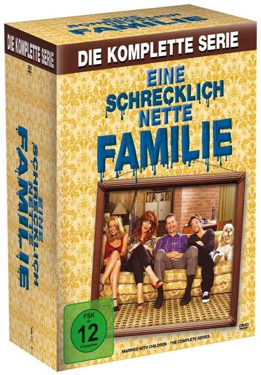 Eine schrecklich nette Familie - Die komplette Serie mit 33 DVDs für 27,99€inkl. Versand (statt 35€)