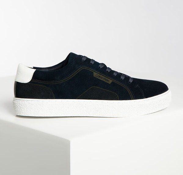 "Calvin Klein Herren Sneaker ""Elliot"" in Navy für 52,34€ inkl. Versand (statt 129€)"