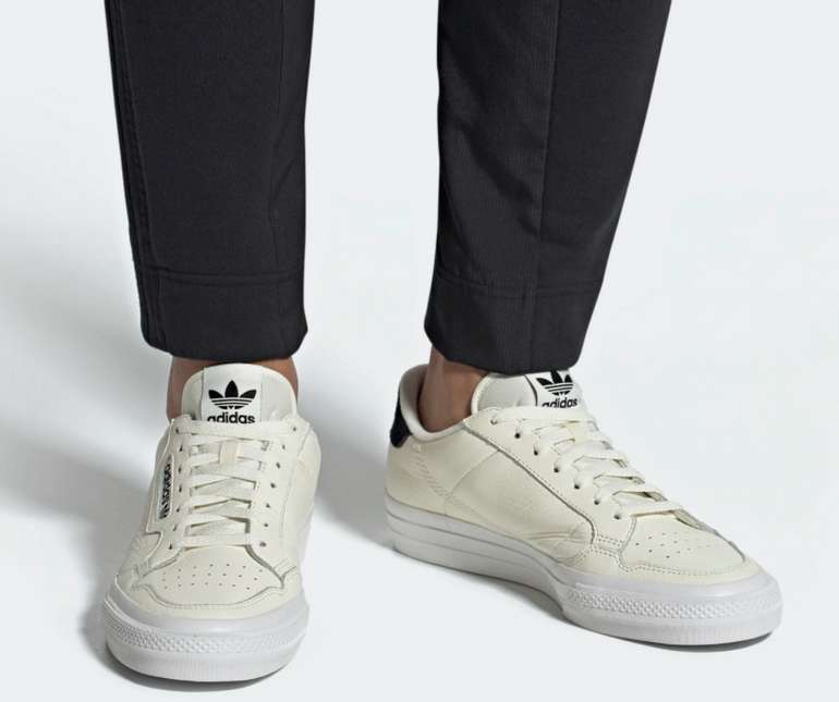 """Adidas Originals Sneaker """"Continental Vulc"""" in dunkelblau-weiß für je 40,41€ inkl. Versand (statt 54€)"""