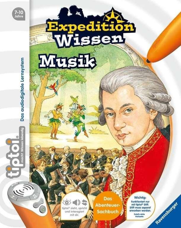Tiptoi Expedition Wissen: Musik für 8,79€ inkl. Versand (statt 10€)