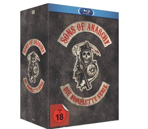 Sons of Anarchy – Die komplette Serie auf Blu-ray für 68€ inkl. VSK