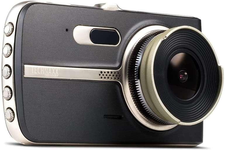 Technaxx Dashcam TX-167 mit Assistenzsystemen mit 10cm LCD-Bildschirm für 113,90€ inkl. Versand (statt 149€)