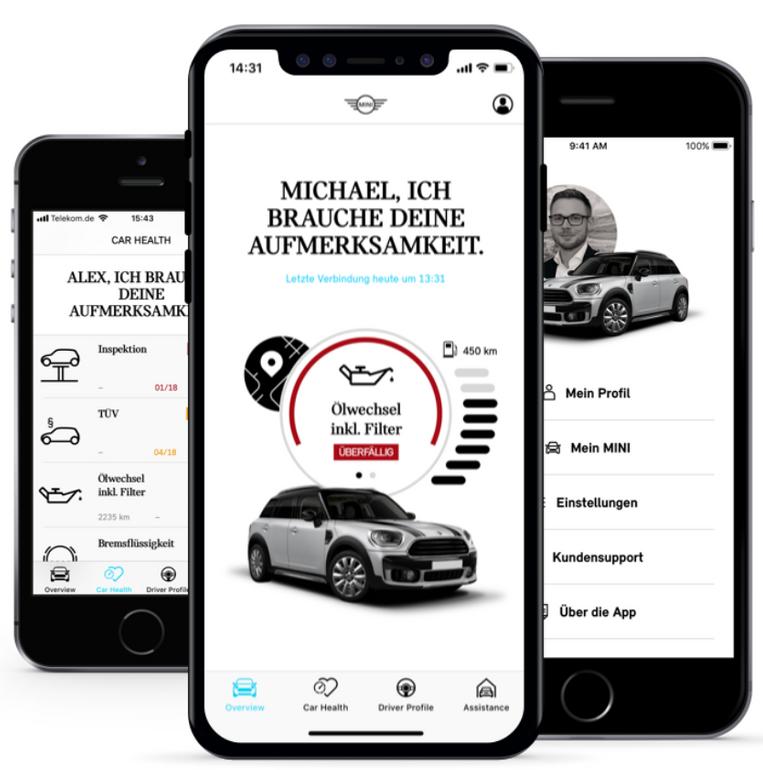 Kostenloser OBD-Stecker für alle Mini-Fahrer (nur mit iOS)