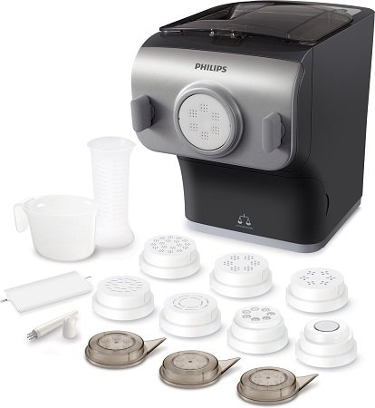 Media Markt Tiefpreisspätschau - z.B. Philips HR2358/12 Nudelmaschine für 169€