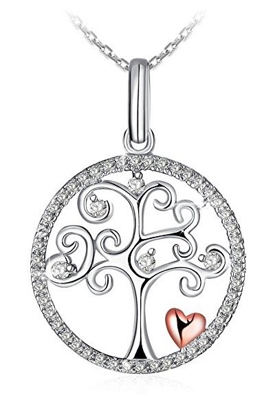 "J.Rosée Damenkette ""Lebensbaum"" (Sterlingsilber) für 9,99€ inkl. Versand"