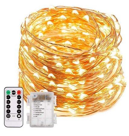 ECOWHO Trylight - Lichterkette mit 200 LEDs & 8 Modi für 6,99€ inkl. Prime VSK
