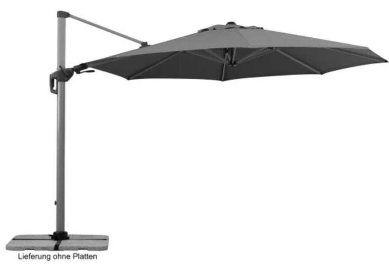 Schneider Sonnenschirm Sale im Toom Baumarkt - z.B. Schneider Ampelschirm Bermuda 350cm für 479,99€