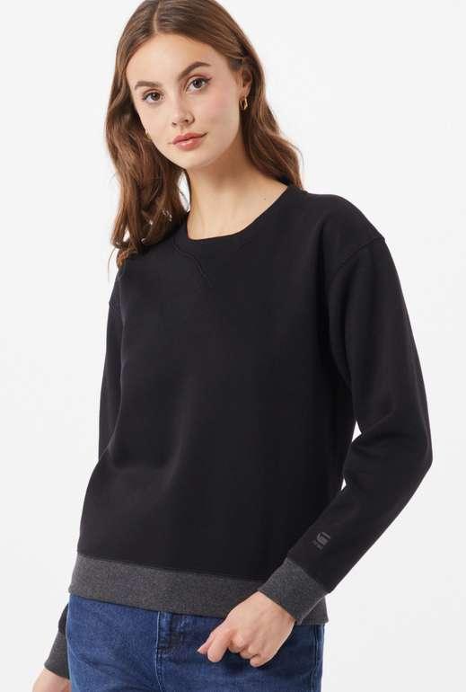 """G-Star Raw Damen Sweatshirt """"Premium Core"""" in Schwarz für 19,16€ inkl. Versand (statt 35€)"""