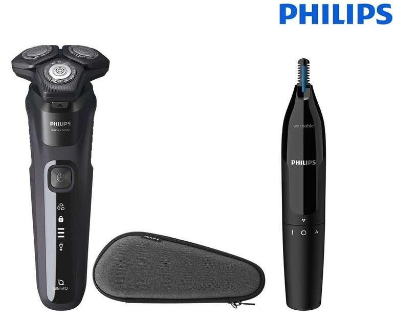 Philips Series 5000 S5588/26 Rasierer inkl. Nasen- und Ohrenhaartrimmer für 75,90€ inkl. Versand (statt 99€)