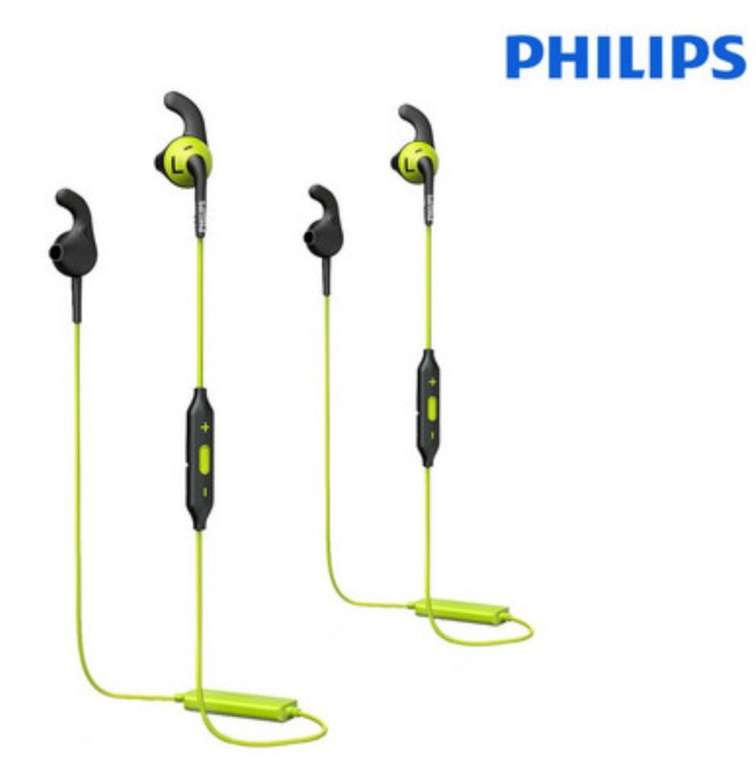 2er Pack Philips Actionfit RunFree Bluetooth-In-Ears (SHQ6500CL) für 35,90€