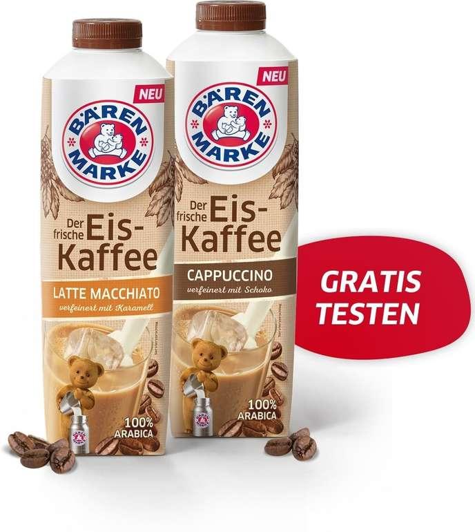 Bärenmarke Eiskaffee gratis probieren dank Geld-zurück-Garantie