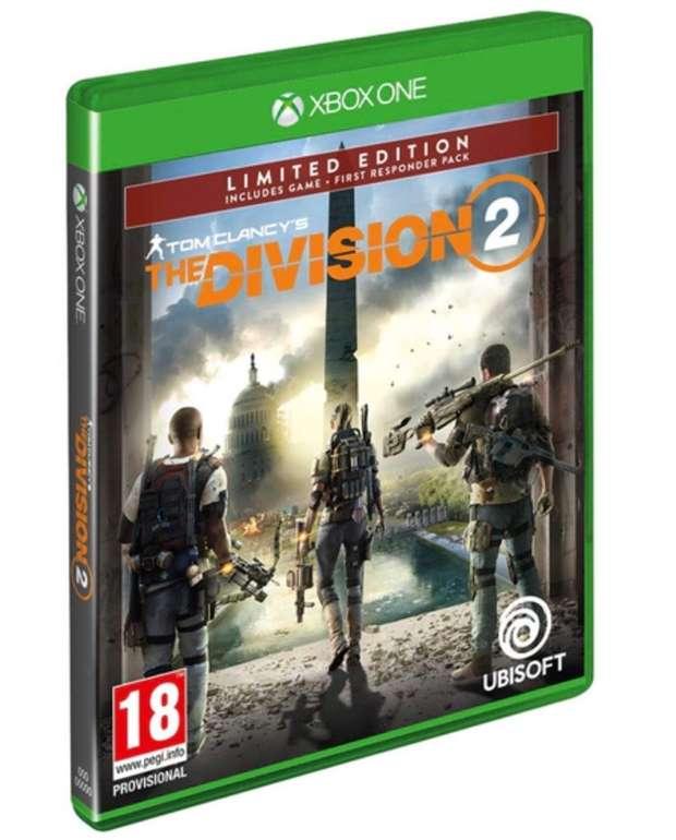 Tom Clancy's - The Division 2 (Limited Edition) für Xbox One nur 12,98€ inkl. Versand (statt 25€)