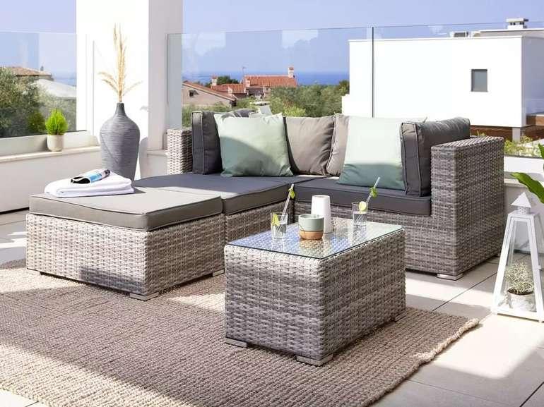 Modern Living Lounge Garnitur Parga für 428,30€ (statt 578€)